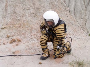 Prototype Mars Space Suit To Be Unveiled at Badlands Test Site