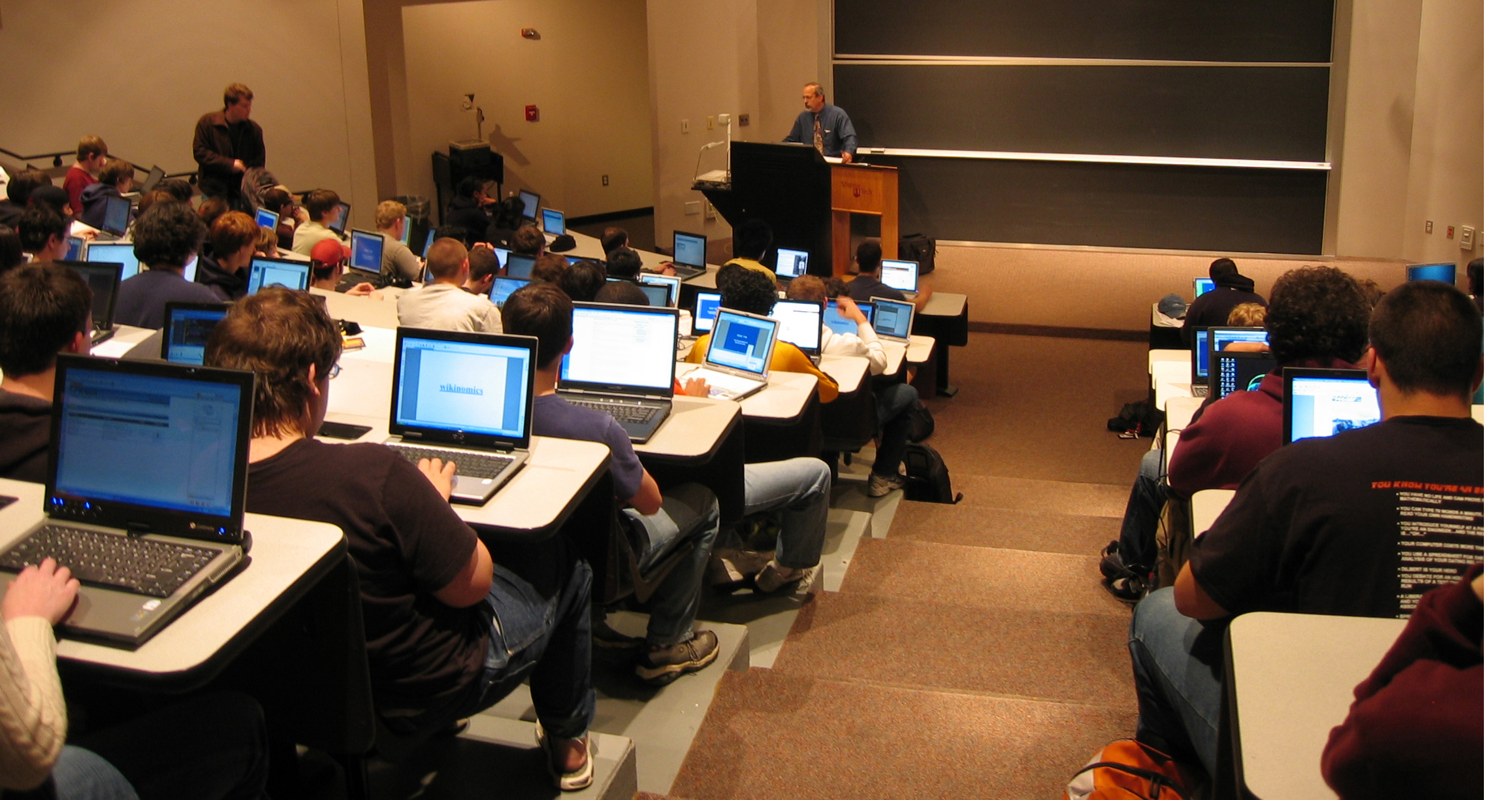 Modern Technologies Used In Classroom ~ New educational software links students in wireless