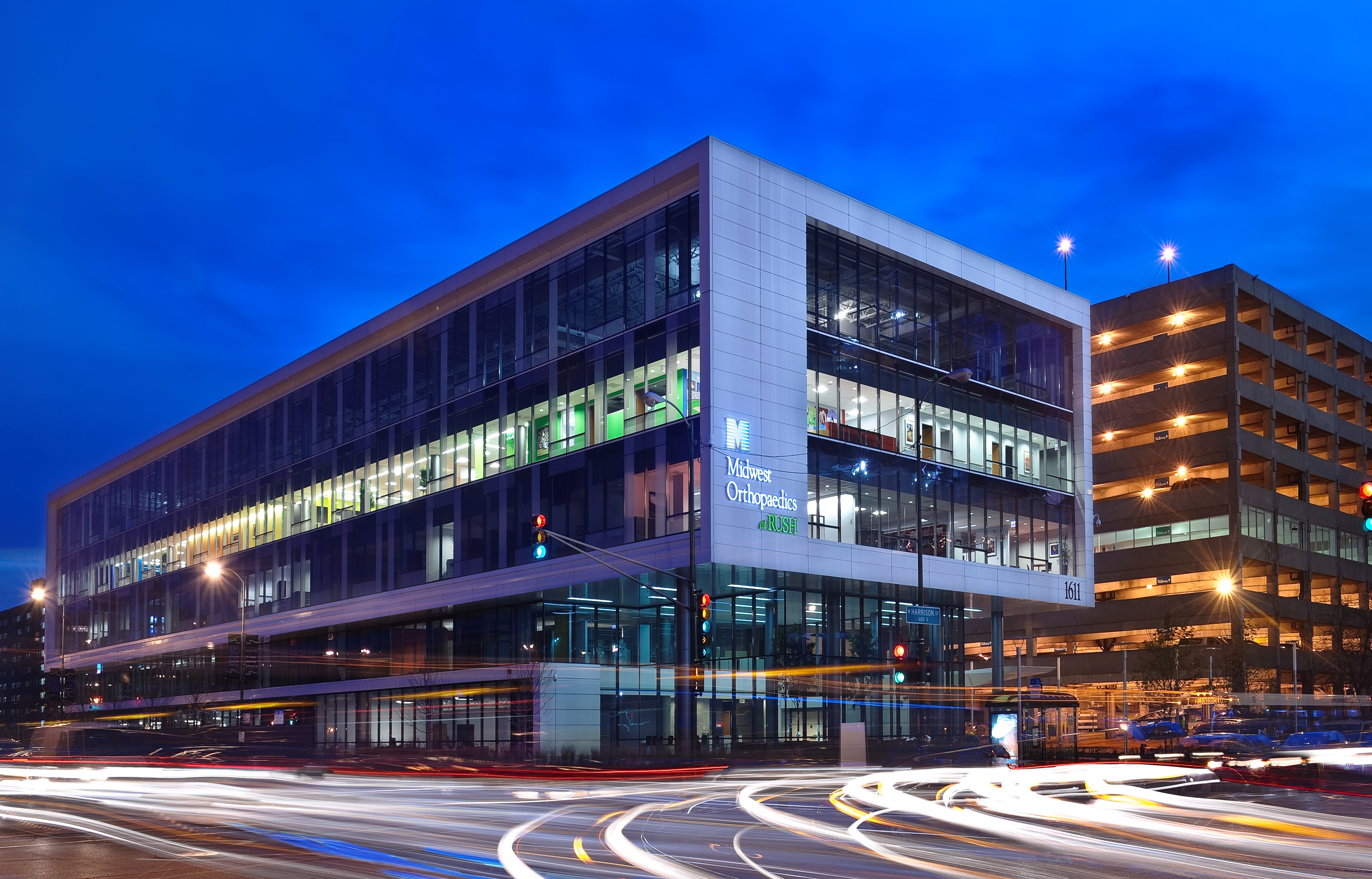 Gold leed certification awarded to orthopedic building at for Certified building designer
