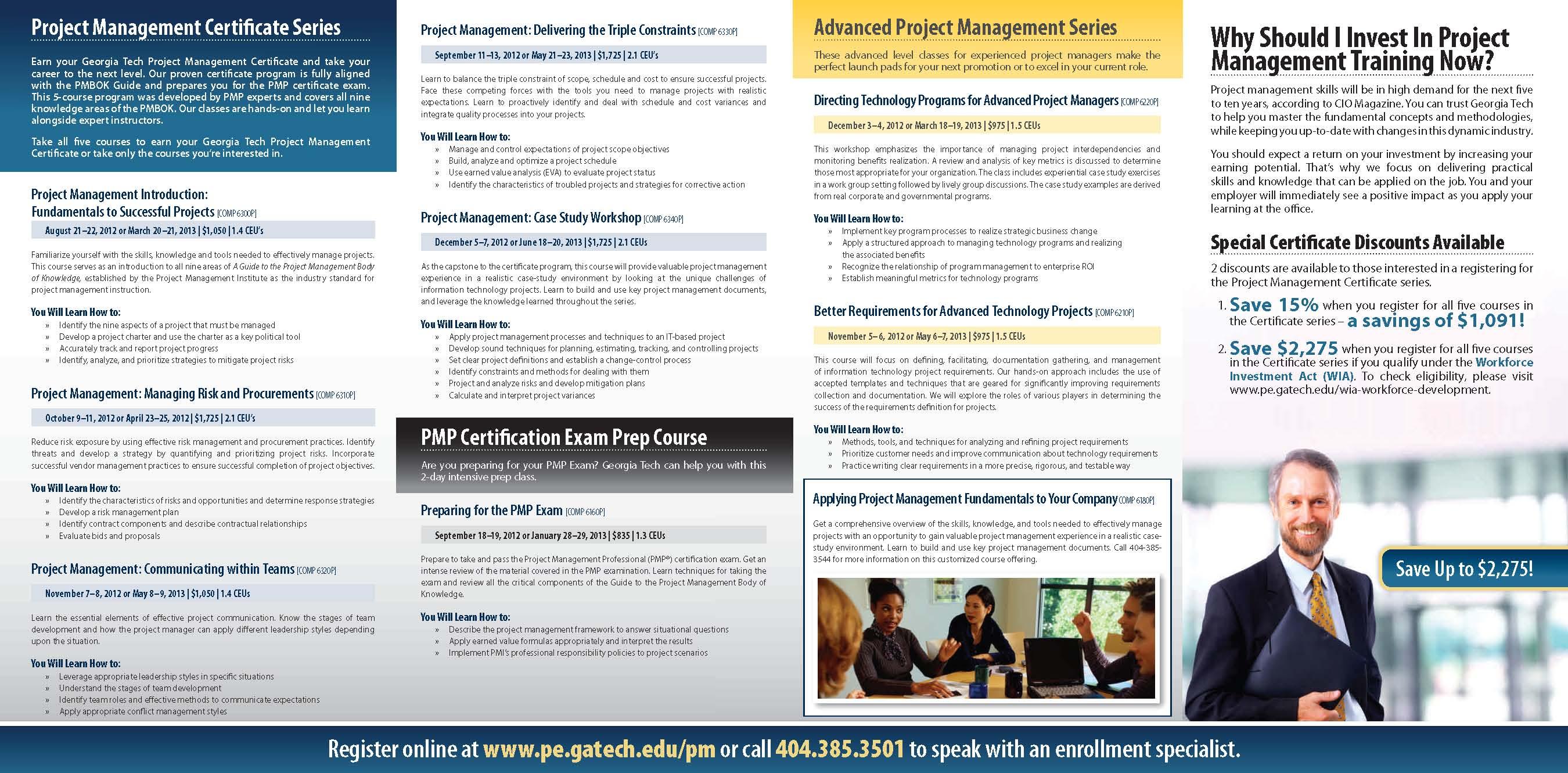 Georgia Tech Professional Education Course Prepares Participants For