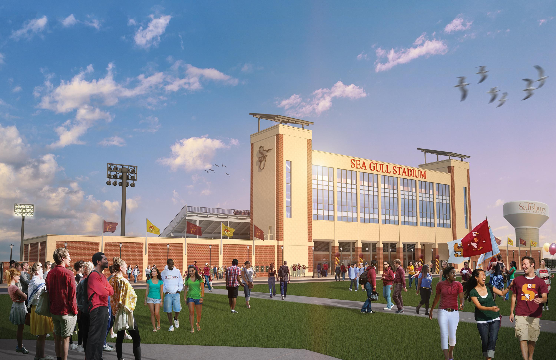 Salisbury University Breaks Ground on New $19 Million Stadium