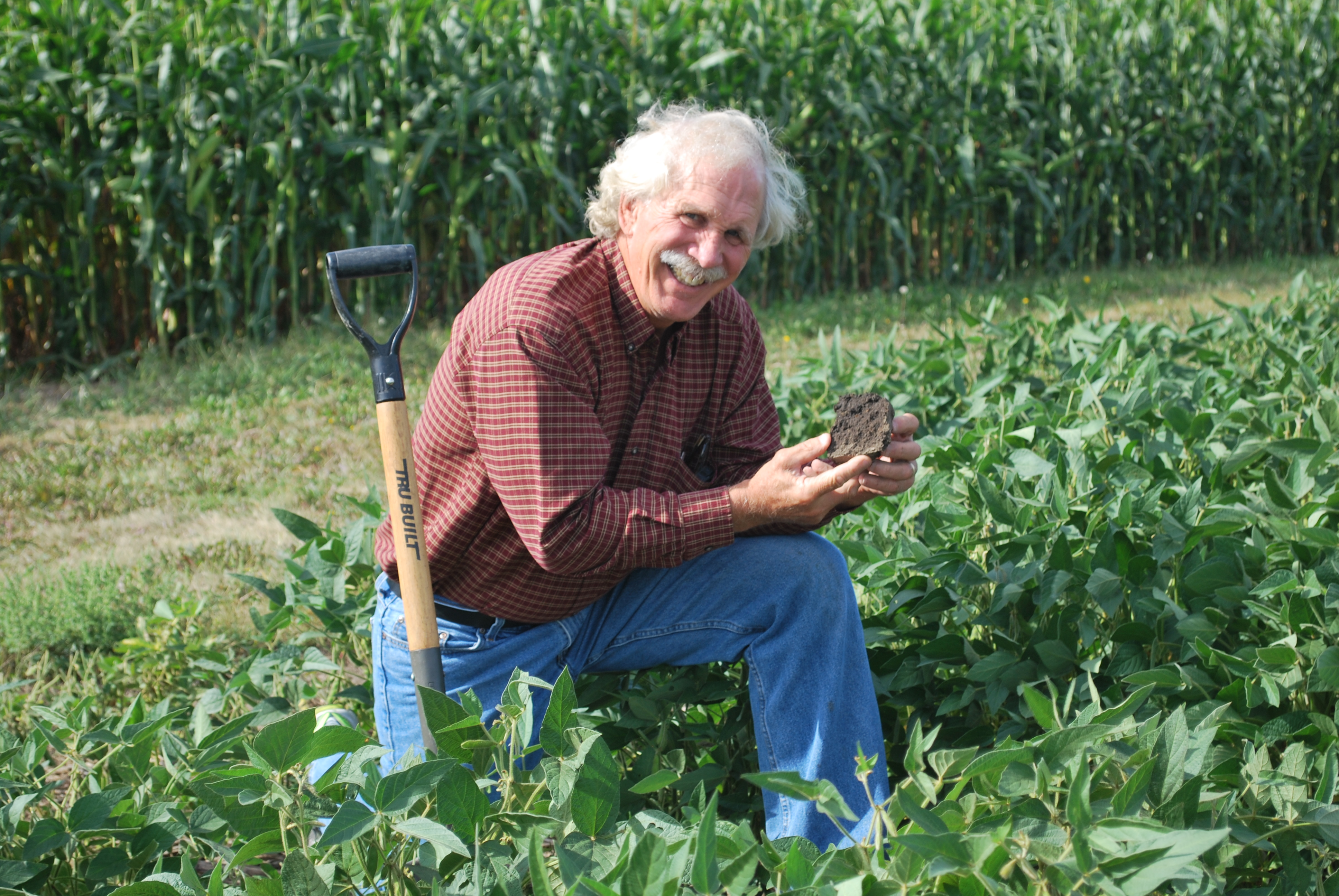 Midwest scientist reports improved soil conditions for Soil scientist