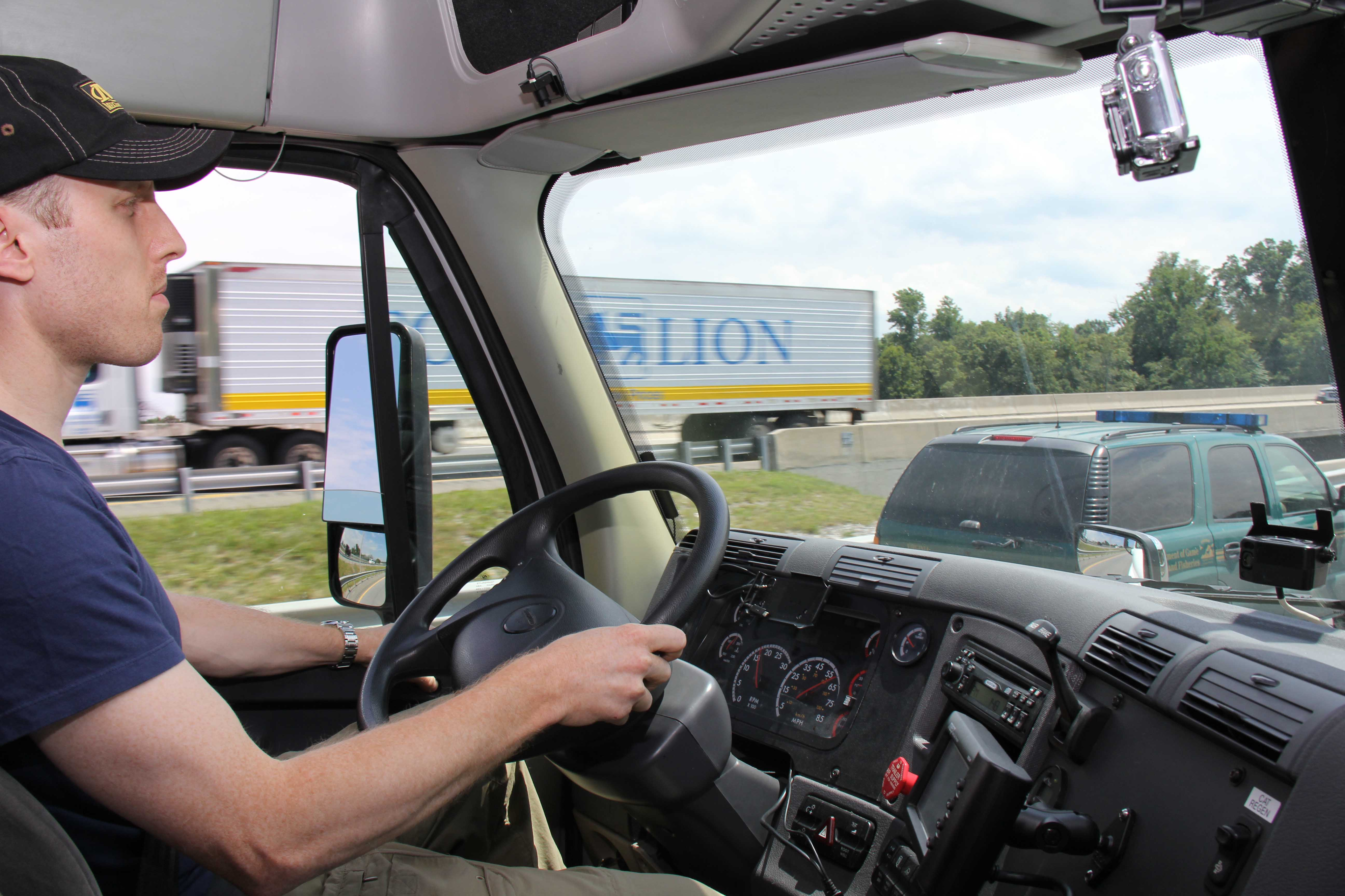 article regarding truck driving