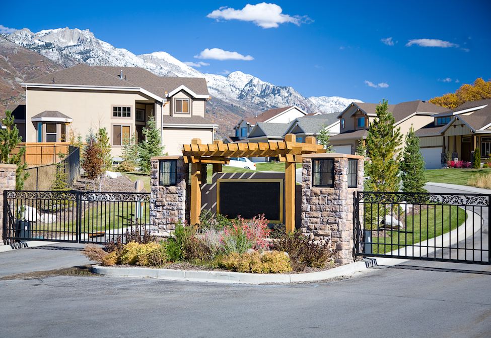 study shows homes in gated communities command higher