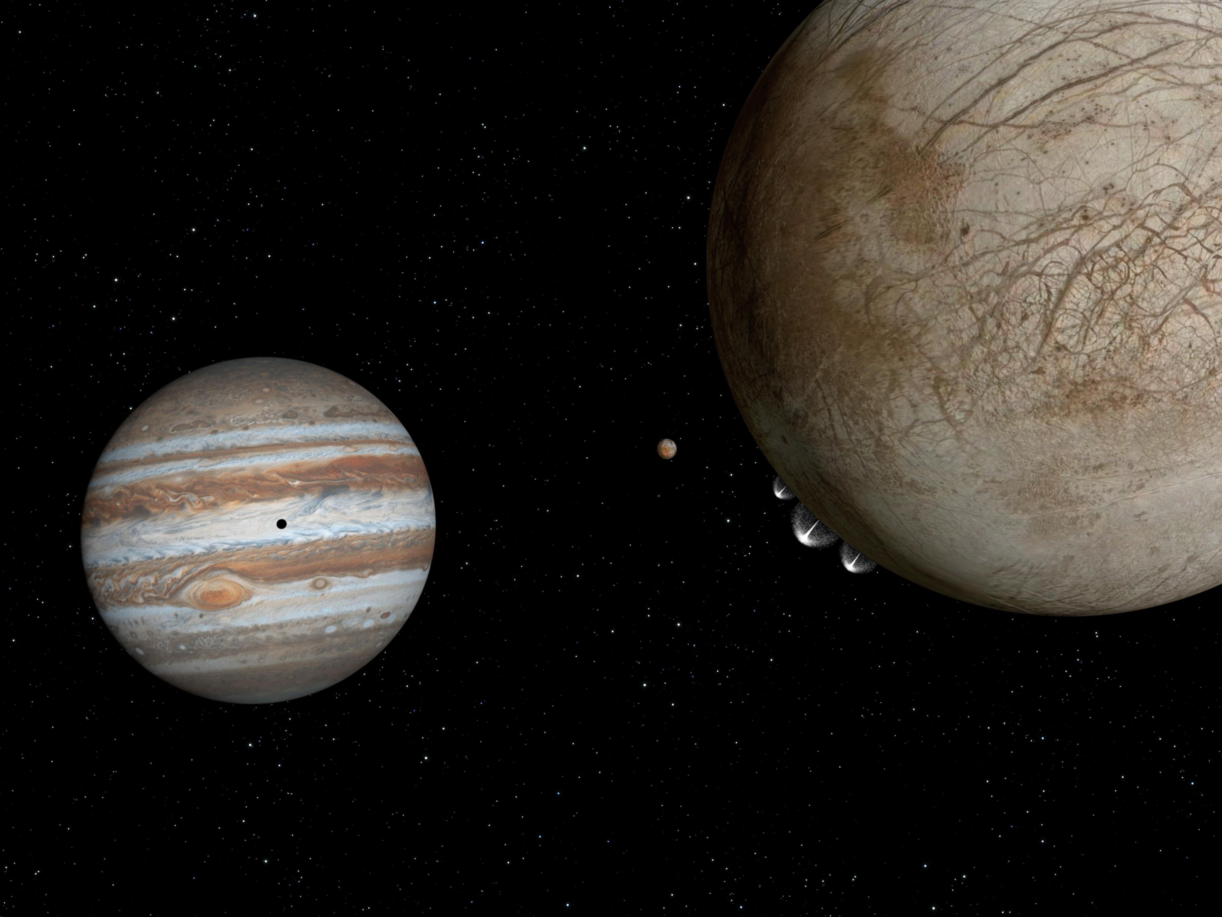 Nasa U2019s Hubble Spots Possible Water Plumes Erupting On Jupiter U0026 39 S Moon Europa