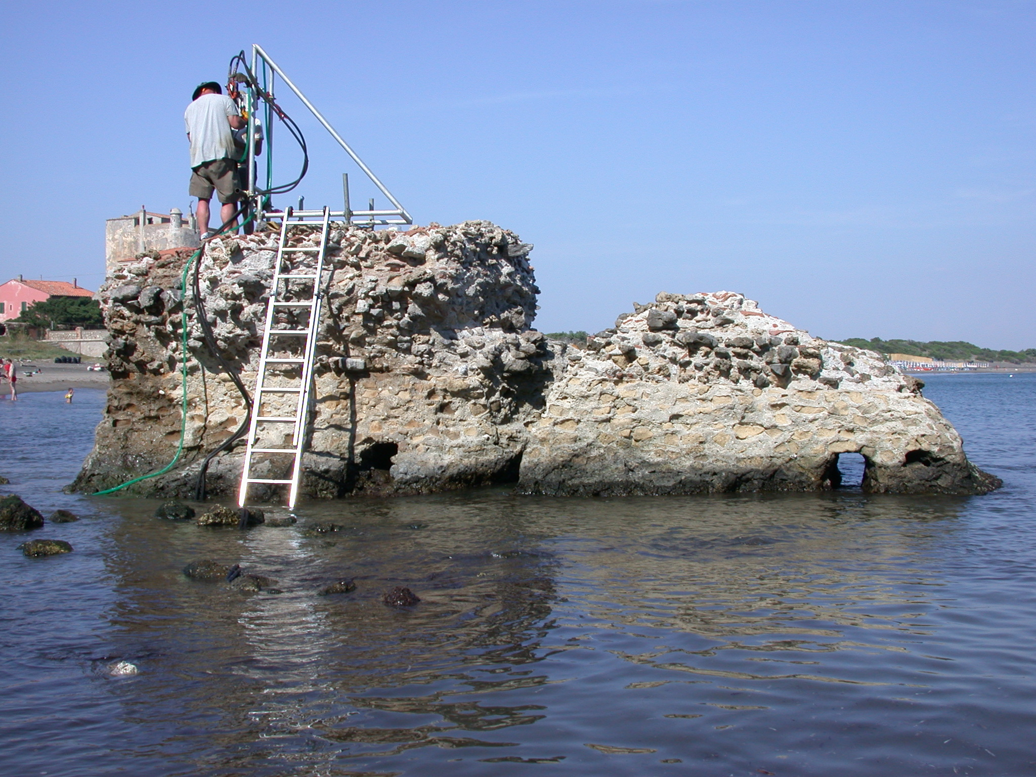 Seawater strengthened ancient Roman structures, shows study