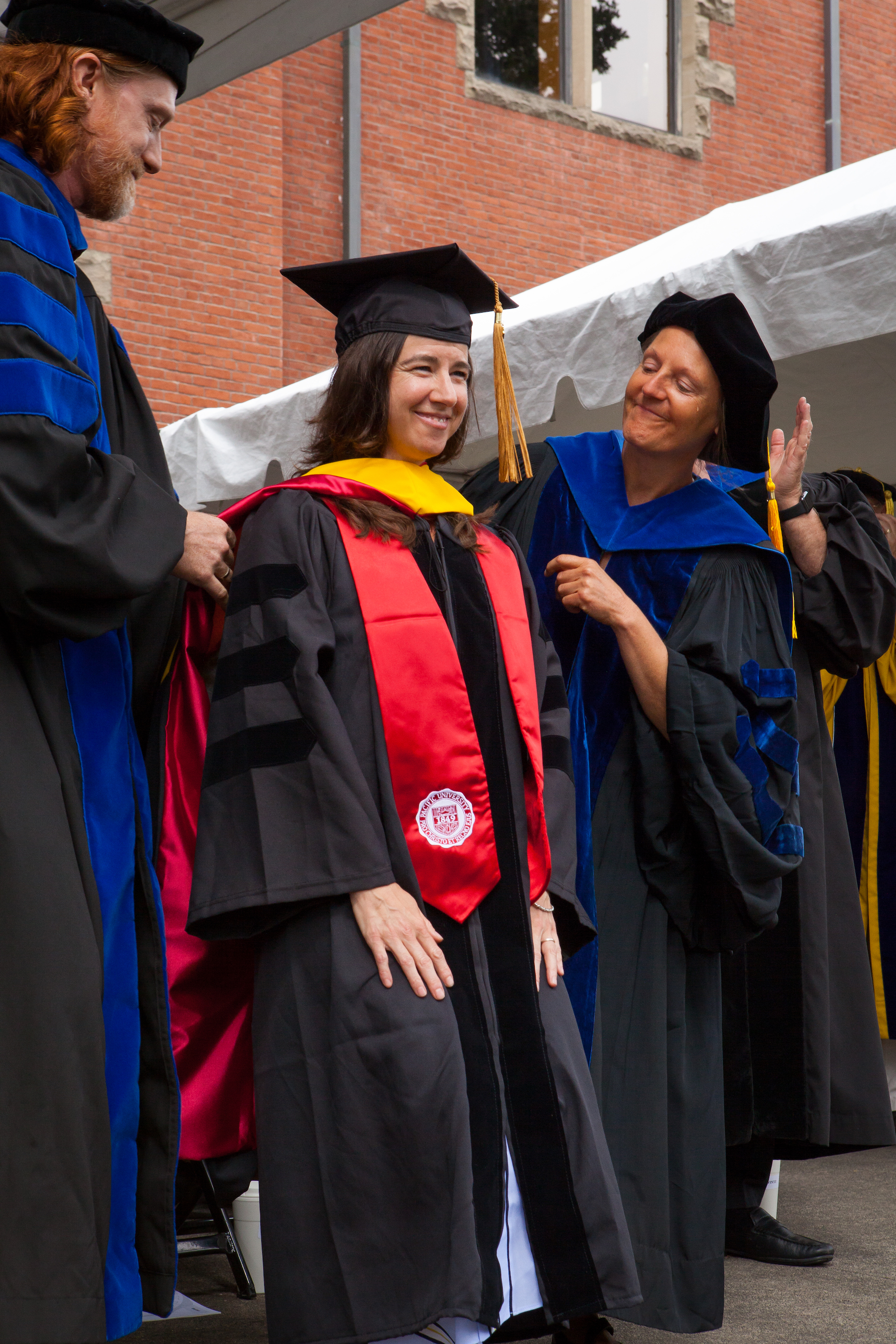 Pacific Celebrates First PhD Graduate at August Commencement