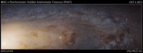 Hubble S High Definition Panoramic View Of The Andromeda Galaxy