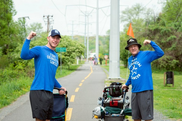 Fight Colorectal Cancer Advocate Walking 2 800 Miles Across The U S To Raise Awareness Of Preventable Disease