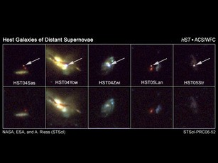 Newswise: Hubble Finds Evidence for Dark Energy in the Young Universe