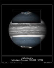 Newswise: Hubble Monitors Jupiter in Support of the New Horizons Flyby