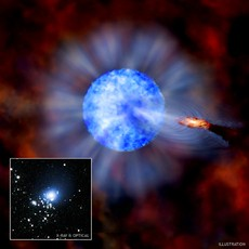 Newswise: Heaviest Stellar Black Hole Discovered in Nearby Galaxy