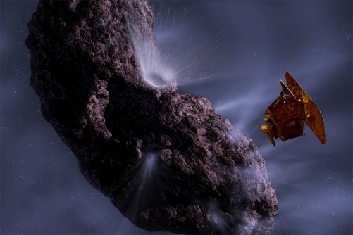 Newswise: Deep Impact Spacecraft Heads for Comet Hartley 2