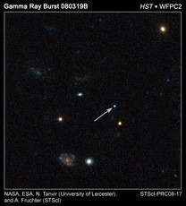 Newswise: Hubble Pinpoints Record-breaking Explosion