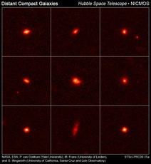 Newswise: Compact Galaxies in Early Universe Pack a Big Punch