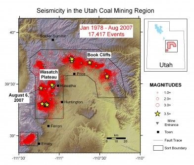 Newswise: Fatal Mine Collapse Covered 50 Acres, Began Near Miners