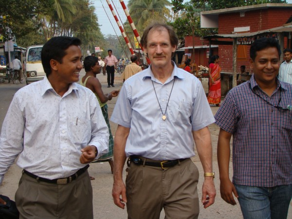 Plant pathologist Robert Wick in Bangladesh