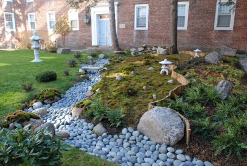 Newswise: St. Lawrence Campus Now Has Zen Garden
