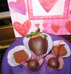 Valentine's Dark Chocolate Gift