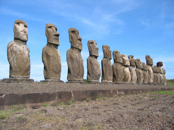 These Easter Island monoliths have endured for centuries. New research suggests that a compound first discovered in soil of the remote South Pacific island might help humans stand the test of time, too.