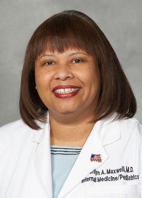 Marilyn Maxwell, M.D., professor of pediatrics and internal medicine at Saint Louis University School of Medicine