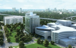 The Research Institute at Nationwide Children's Hospital will break ground on its third research facility in early 2010. The new research building is pictured...