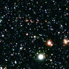 Astronomers have discovered a massive cluster of young galaxies forming in the distant universe. The growing galactic metropolis, named COSMOS-AzTEC3,...