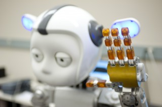 Using the robot Simon, researchers found that they can program a robot to understand when it gains a human's attention and when it falls short.