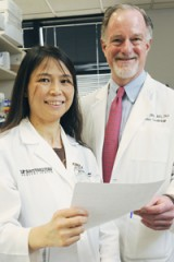 Drs. Dian Cao and Joseph Hill