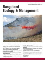 Rangeland Ecology and Management Volume 64 Issue 5