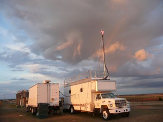 A Sandia-led team built two mobile facilities that are designed to measure greenhouse gases and other species so that they could be traced and identified....