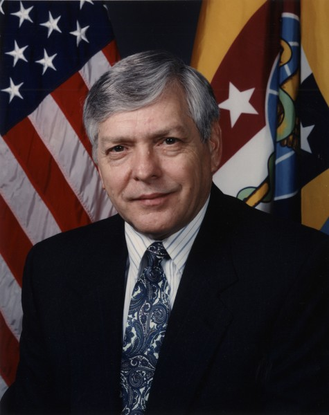 Dr. James A. Zimble, 4th President of the Uniformed Services University of the Health Sciences and former Navy Surgeon General