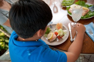 "Although their diets were similar, typically-developing children, in one study, had healthier levels of ""good"" cholesterol and fatty acids than did children..."