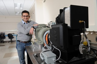 Iowa State University's Dionysios Aliprantis is working to improve the performance of electric motors.