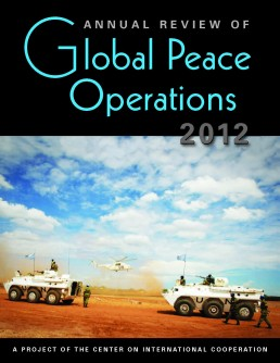 Newswise: Peacekeeping Deployments Grew, but at Slower Pace, in 2011