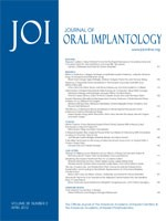 Journal of Oral Implantology 38.2