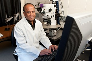 Ulhas Naik, UD professor of biological sciences and director of the Delaware Cardiovascular Research Center.