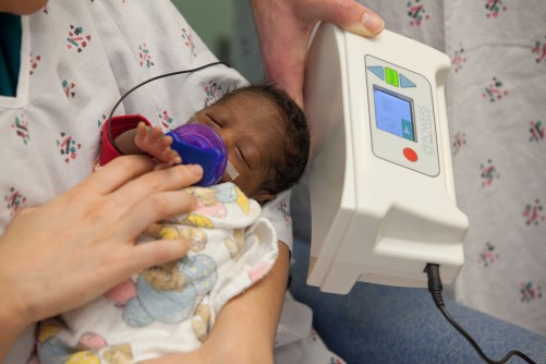 Newswise: New Musical Pacifier Helps Premature Babies Get Healthy