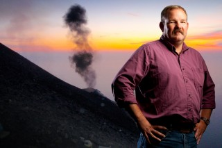 UB geologist Greg Valentine recently conducted an experiment to figure out what happens during and after an eruption.