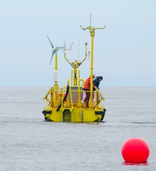 The Ocean Sentinel has begun operation in Oregon as one of the nation's first wave energy testing facilities.