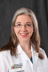 Katie Larson Ode, assistant professor of pediatrics at the University of Iowa