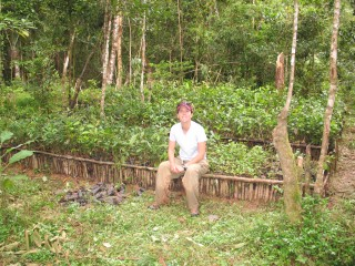 Associate Professor Sarah Karpanty has conducted biodiversity research in Madagascar since 1998