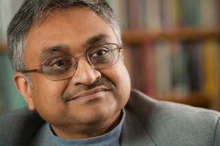 Communication professor Ananda Mitra