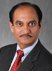 Rakesh Kumar, Ph.D., Catharine Birch McCormick Endowed Chair of the Department of Biochemistry and Molecular Biology and professor of biochemistry and molecular...