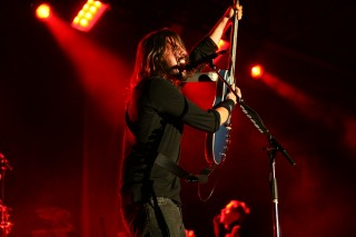 Consumers look to celebrities such as Dave Grohl of the Foo Fighters to help them construct identity, which influences purchasing decisions.