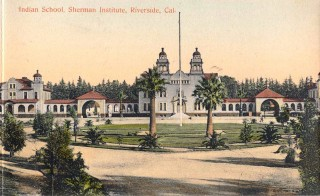 Sherman Institute, built in the Mission Revival architectural style, enrolled its first students on Sept. 9, 1902.