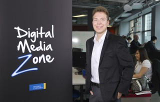 Adrian Bulzacki is CEO or ARB Labs, a company incubating in the Ryerson University Digital Media Zone.