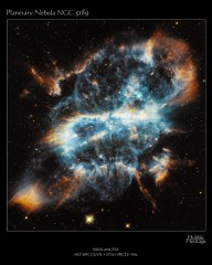 Astronomers using NASA's Hubble Space Telescope have photographed a festive-looking nearby planetary nebula called NGC 5189. The intricate structure of this...