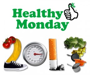 Get 52 Healthy Monday Tips to stick with your 2013 resolutions and incorporate healthier habits into your life