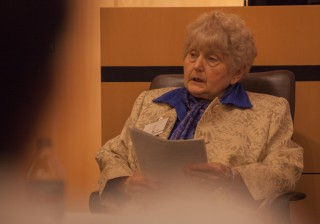 Eva Kor is a survivor of Auschwitz and Josef Mengele's twin experiments